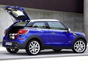 Mini Paceman, Mobil Bermesin Turbo dengan 6 Percepatan