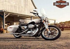 Moge Mabua Harley Davidson Superlow XL883L, Cocok Untuk Wanita