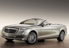 Mercedes Benz, Perkenalkan Cabriolet S Class Atap Lipat