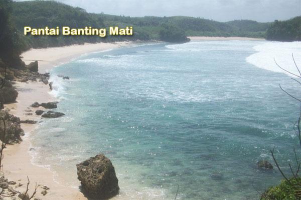 Pantai Kresek dan Pantai Banteng Mati (Mbanteng) Blitar