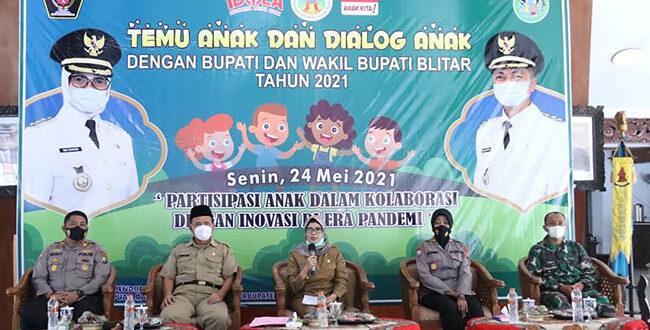 Gelar Forum Anak, Bupati Blitar Libatkan 198 Anak