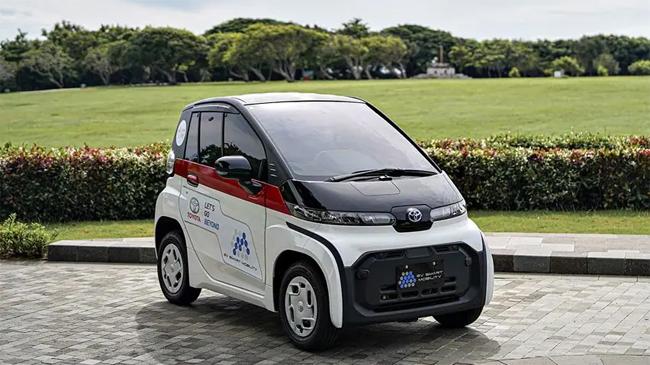 Mobil Toyota C+Pod, Solusi Mobilitas Masa Depan