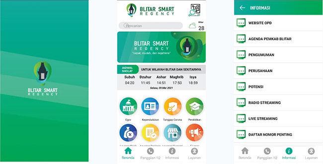 Aplikasi Blitar dalam Genggaman (Blitar in Your Hand)