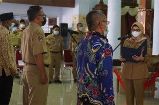 Bupati Blitar Lantik Komisi Irigasi Kabupaten Blitar